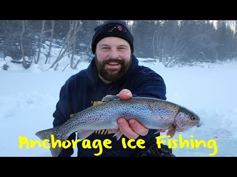 Ice Fishing Anchorage Trout