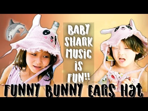 Bunny Ears Hats Baby Shark Challenge Quick Review at The Shop!