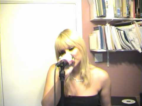 Adele - Make you Feel My Love - Cover by Sarah Tyler Singer (Chipmunk version)