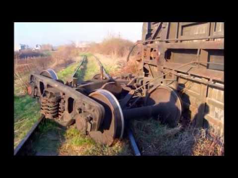 Подъём упавшего вагона