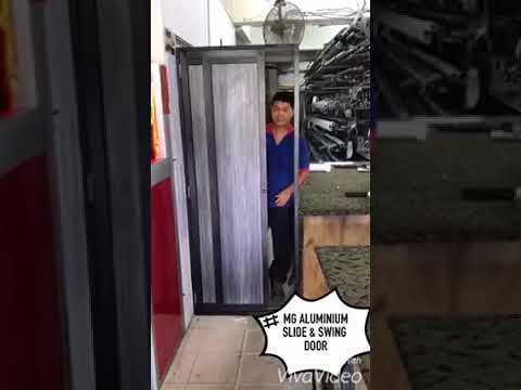 Mg Aluminium Slide U0026 Swing Door   YouTube