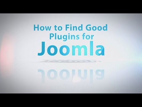 How To Find Good Plugins For Joomla