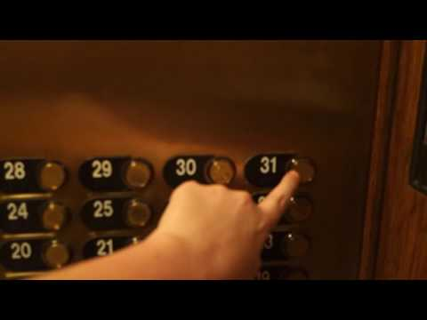 BEAUTIFUL ELEGANT Otis Series 2 Elevonic 411M Traction Elevators At Omni Mont Royal, Montreal, QC