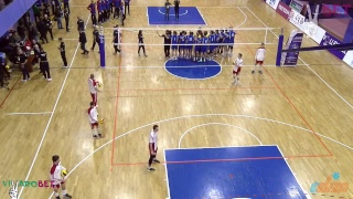 Volleyball EEVZA U-15 Men Championship 18.12.2018 Day6 FINALS