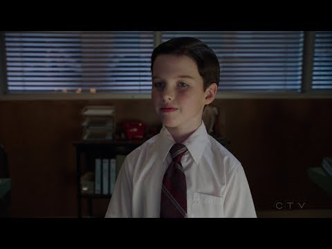 Young Sheldon helps NASA in launching a satelite - Young Sheldon S01E19