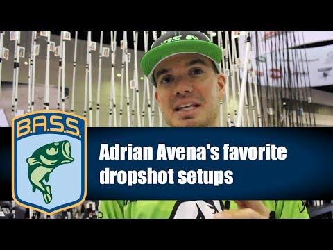 Adrian Avena's favorite dropshot setups