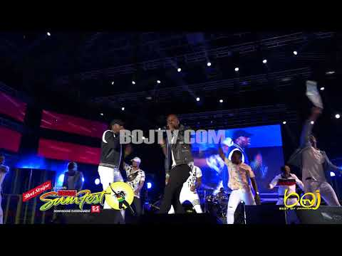 DING DONG PERFORMANCE AT REGGAE SUMFEST 2018 - PART 1 - DANCEHALL NIGHT -  ROUGH EDIT