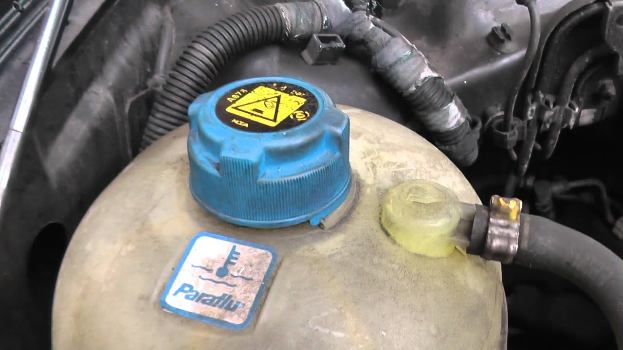 hight resolution of fiat stilo engine coolant top up location