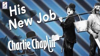 His New Job l Charlie Chaplin l Funny Silent Comedy Film (1915)