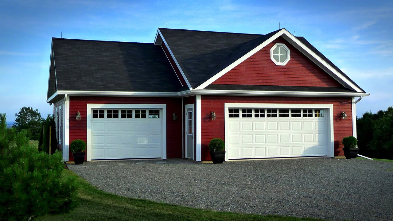 Ultimate detached garage 100 days of construction youtube for Detached garage