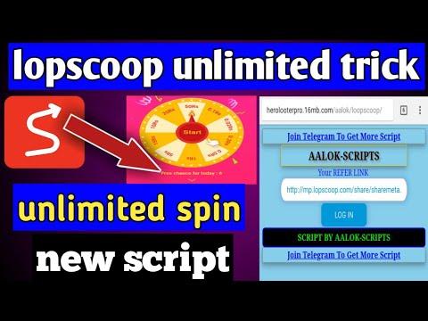 Lopscoop Game Share Online Script