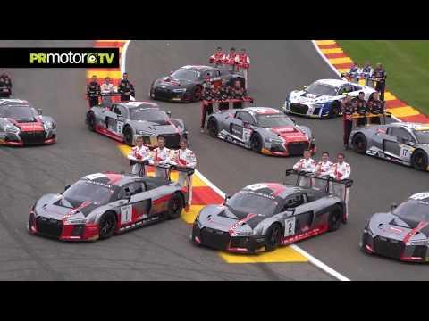 Audi gana las 24 Horas de Spa 2017! Material Completo en PRMotor TV Channel