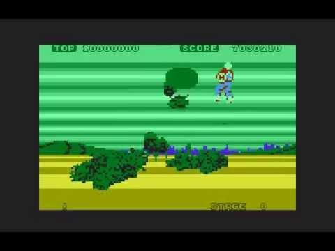Space Harrier - Atari XL/XE longplay
