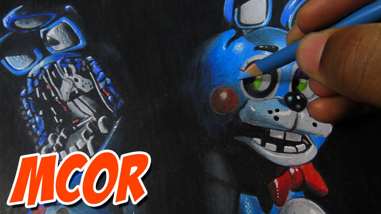 Drawing Toy Bonnie And Withered Bonnie Old Bonnie Five Nights At Freddy S 2 Youtube
