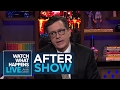 after show stephen colbert says donald trumps tweeting has no dignity fbf wwhl