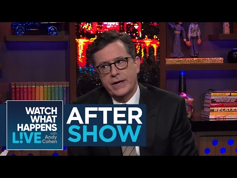 Thumbnail: After Show: Stephen Colbert Says Donald Trump's Tweeting Has No Dignity | #FBF | WWHL