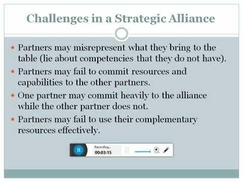 Strategic alliances in hindi