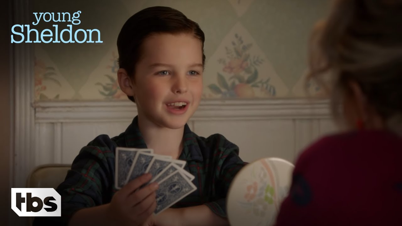 Download Young Sheldon: Sheldon Plays Cards With Meemaw (Season 1 Episode 3 Clip)   TBS