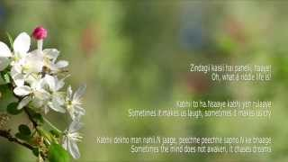 Zindagi Kise Hai Paheli - Lyrics with English Translation