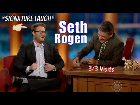 Seth Rogen - Fun Loving Guy - 3/3 Visits In Chronological Order