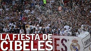 La fiesta completa del Real Madrid en Cibeles y el Bernabéu | Diario AS