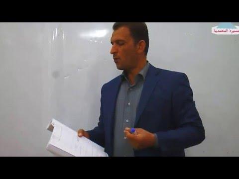 الاتزان الايوني/  الدرس الثالث/ الاستاذ احمد محسن النجار