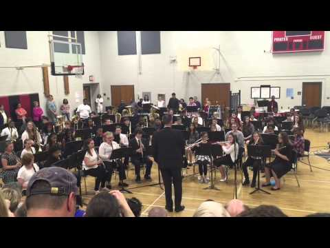 Memorial Park Middle School Intermediate Band Spring Concert 5/13/15  Highlights From Grease