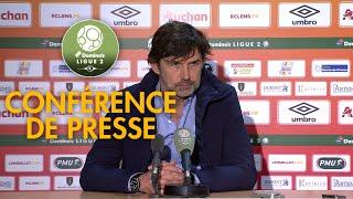 Conférence de presse RC Lens - FBBP 01 (0-1) - 2017/2018