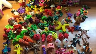 Моя коллекция фигурок из резинок  Rainbow Loom(Сегодня я Вам представлю свою коллекцию фигурок из резиночек Rainbow Loom. В этой коллекции вы увидите самые..., 2015-07-07T10:55:45.000Z)