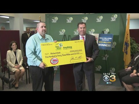 New Jersey Food Production Manager Revealed As $533 Million Jackpot Winner