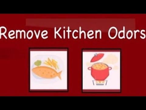 Getting Rid Of Cooking Odors | Removing  Fried Fish Or Curry Odors (Kitchen Tips)