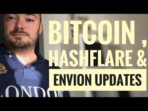 bitcoin review after 2 months, Hash-flare mining profits, envion KYC update