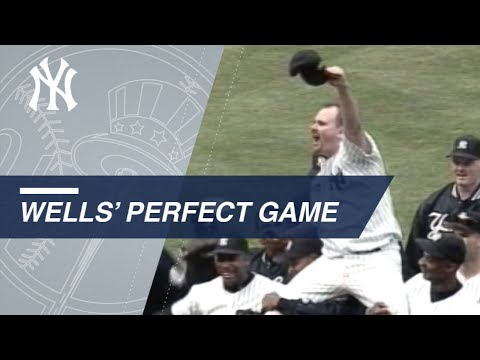 Watch all 27 outs of David Wells\' perfect game