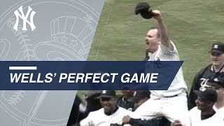 Watch all 27 outs of David Wells' perfect game