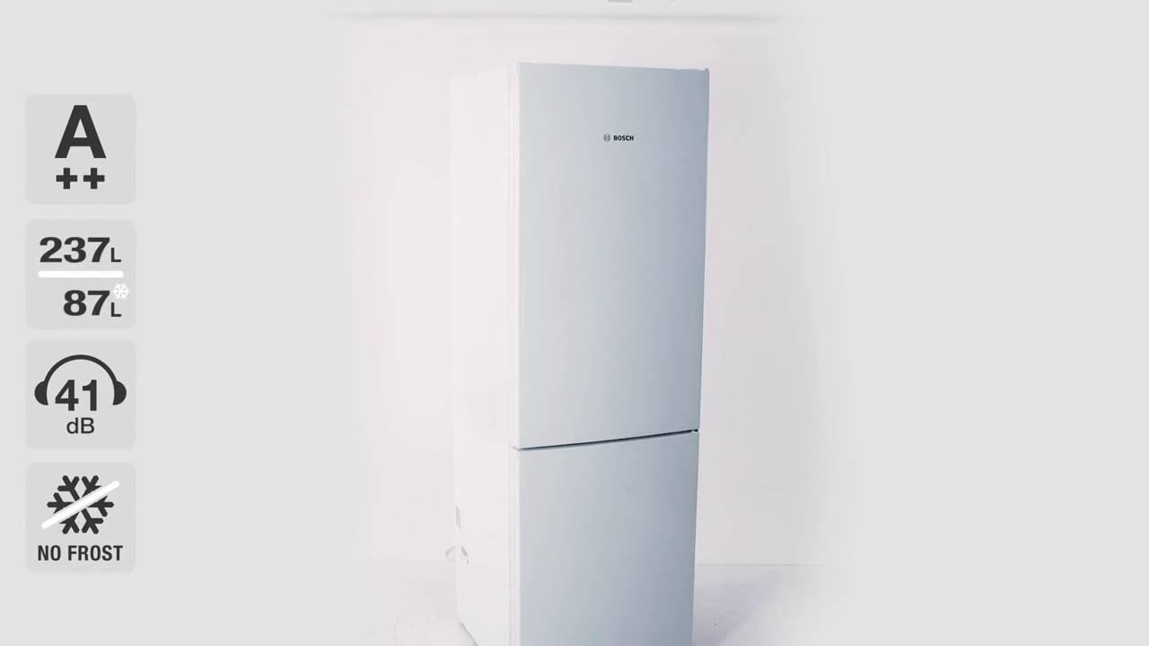 Bosch KGN36VW35 kyl-frys - YouTube : kylskåp med frys : Inredning