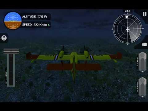 Avion Flight Simulator Canadair CL415 Crucial Hopping