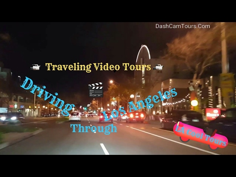 Los Angeles Driving Tour: Saturday The Night Before Grammys 2017 Awards West Hollywood Beverly Hills