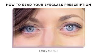 How to Read Your Eyeglasses Prescription | EyeBuyDirect