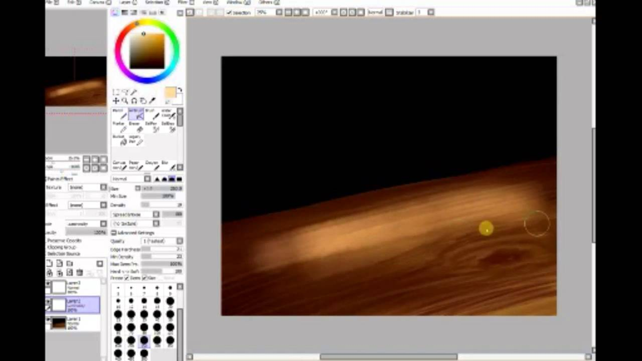 How To Add Texture On Paint Tool Sai