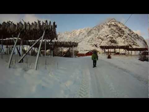 NORWAY - SWEDEN winter 2012 / part 2/3 LOFOTEN ( Å, Reine, R