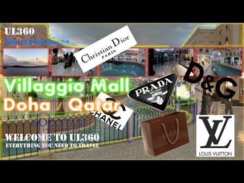 Charming Villaggio Mall | Phenomenal Shops | Luxury Brands | Gondolania Theme Park | Doha | Qatar
