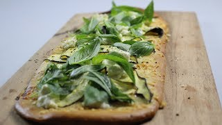 Zucchini, Goats Cheese & Mint Pizza Recipe - Woolworths