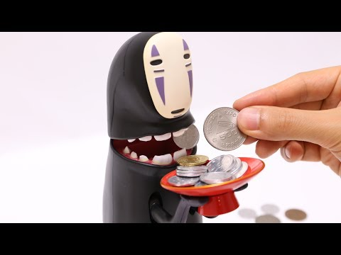 Spirited Away Kaonashi(No-Face) Piggy Bank