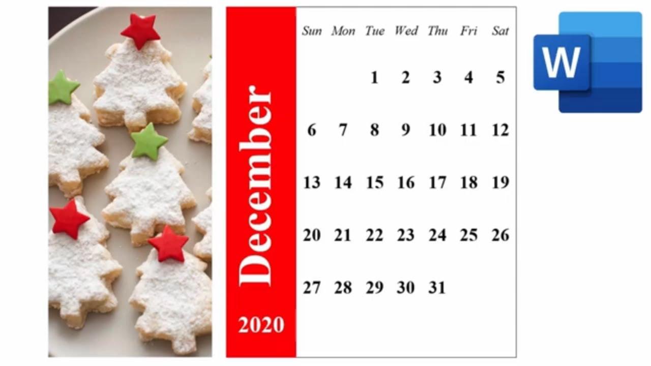 Calendar Wizard 2021 Word 365   2021 Monthly Calendar   Calendar Wizard in Word 365