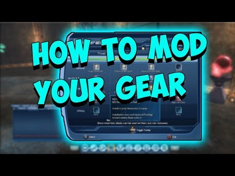 DCUO Mods & Sockets (How To Mod Your Gear) | Part 1