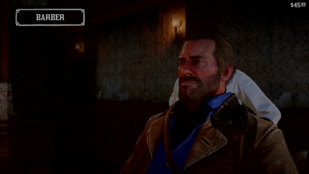 Red Dead Redemption 2 All Hairstyles Youtube