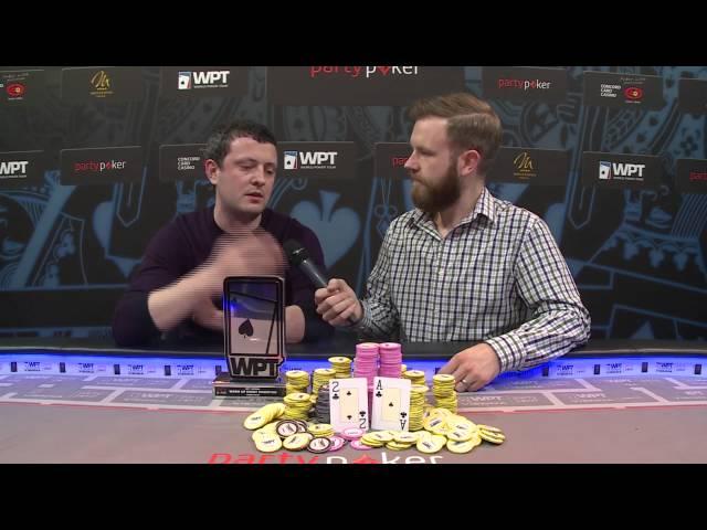 Season XIV partypoker WPT Vienna Warm Up Champion James Akenhead Tells His Story