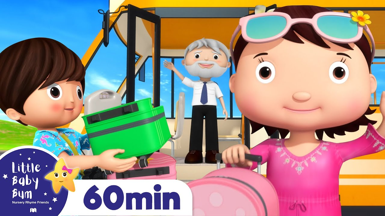 Wheels on the BUS! | Little Baby Bum - Nursery Rhymes & Baby Songs | Learning Videos For Kids