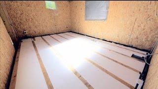 Утепляем бетонный пол: технология ремонта(Дизайнер
