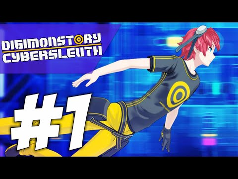 AM I GONNA BE A DIGIDESTINED?! | Digimon Story: Cyber Sleuth (PART #1)